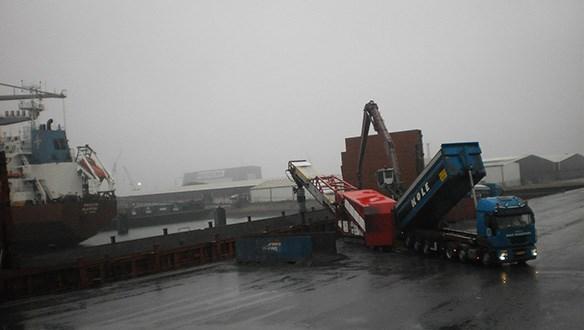 Sistema de carga directo desde camión
