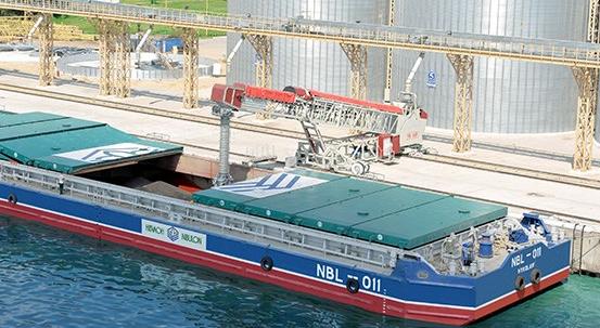 Sistema de carga sobre railes